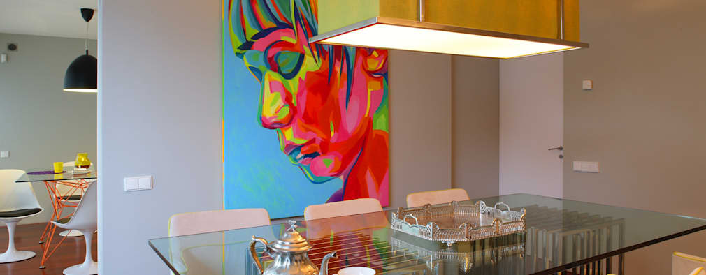 modern Dining room by Susana Camelo