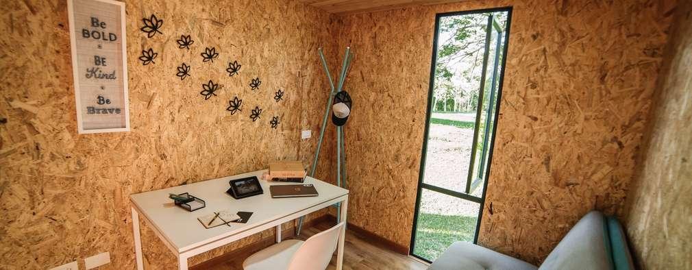 Estudios y oficinas de estilo moderno por COLECTIVO CREATIVO