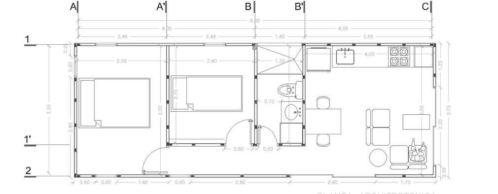 5 planos de casas modernas para que te animes a construir for Pagina para hacer planos gratis