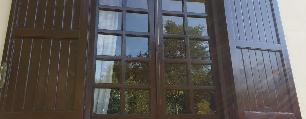 Come verniciare gli infissi in legno fai da te - Verniciare finestre alluminio ...