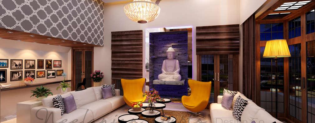 Nisar's bungalow:   by Neelanjan Gupto Design Co