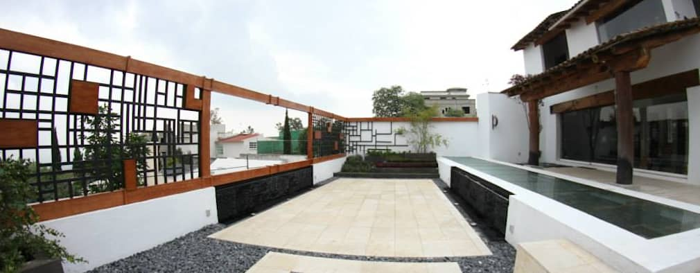 Terrazas de estilo  por VOLEVA arquitectos