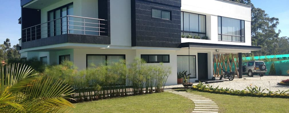 บ้านและที่อยู่อาศัย by Andres Hincapie Arquitectos