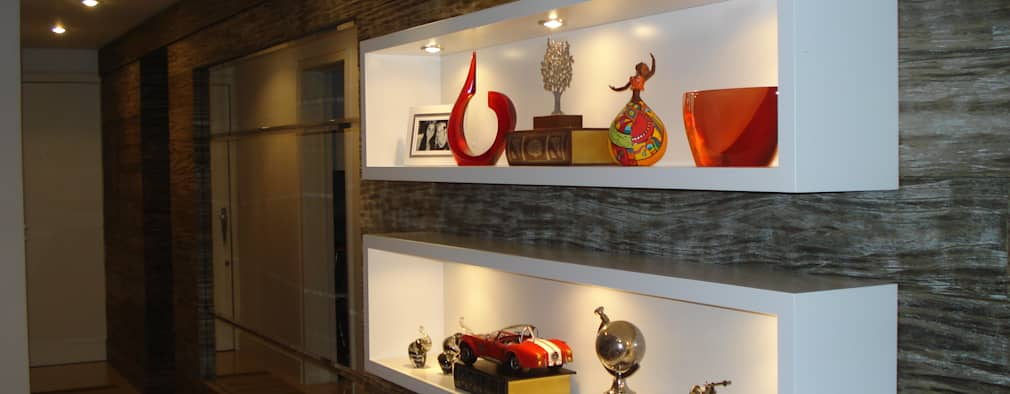 Moderne Woonkamer Door Ana Levy | Arquitetura + Interiores