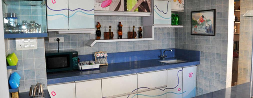 Cocinas de estilo moderno por BION Creations Pvt. Ltd.