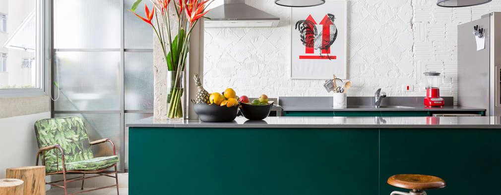 Projekty,  Kuchnia zaprojektowane przez RSRG Arquitetos