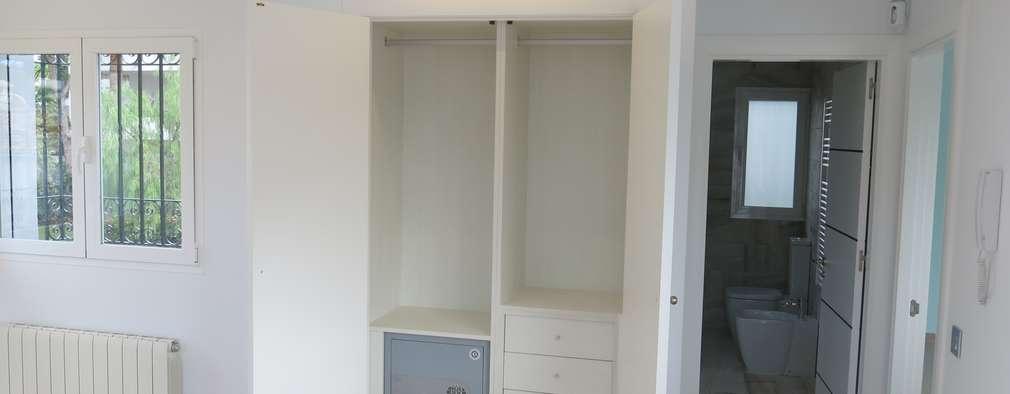 5 closets y armarios empotrados para que los hagas en casa for Armarios buenos