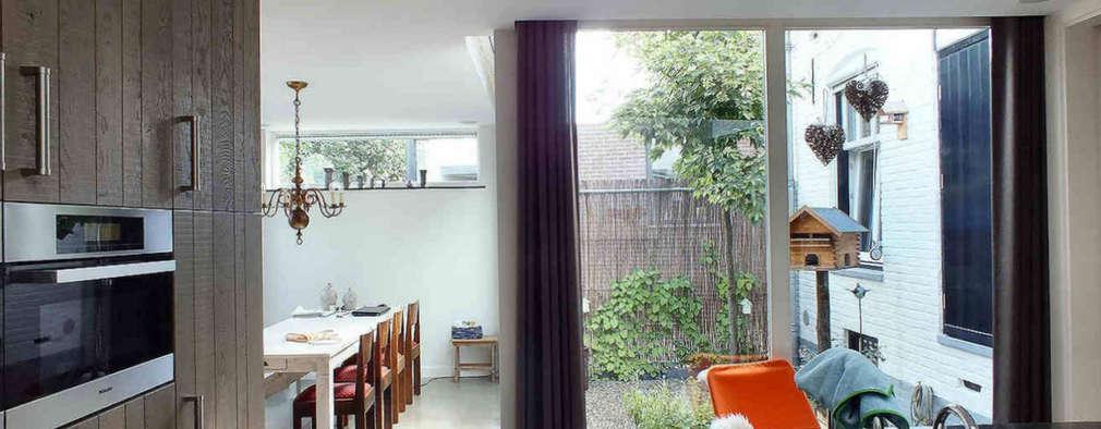 Woonhuis EABR Veldhoven: moderne Keuken door 2architecten
