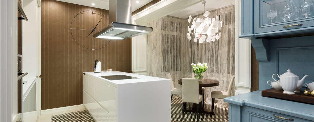 Квартира на Ленсовета: Кухни в . Автор – Юдин и Новиков