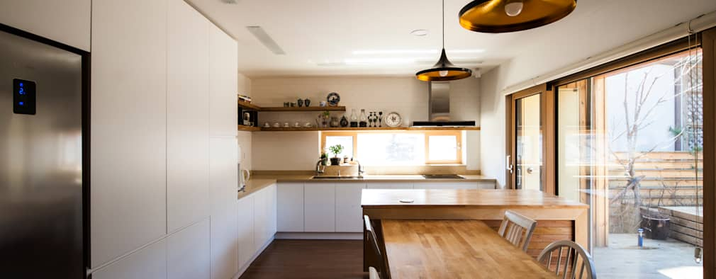 modern Kitchen by 비온후풍경 ㅣ J2H Architects