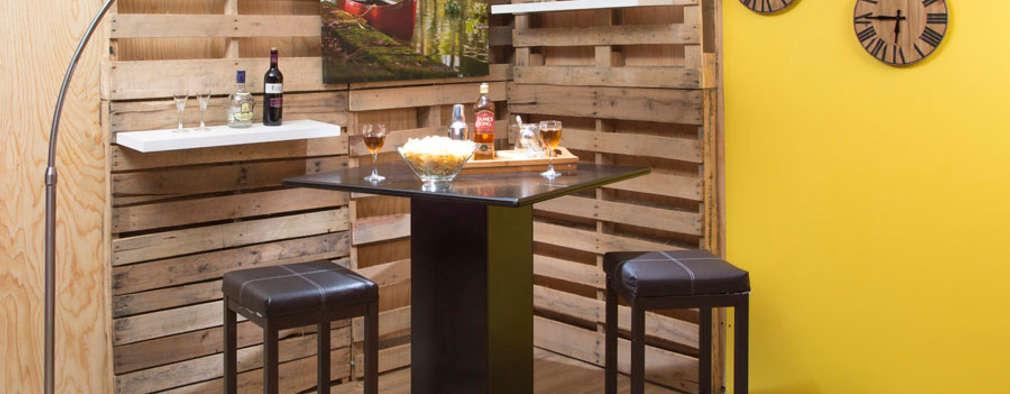Bares r sticos de madera ideas y consejos para tener uno - Como disenar un bar en casa ...