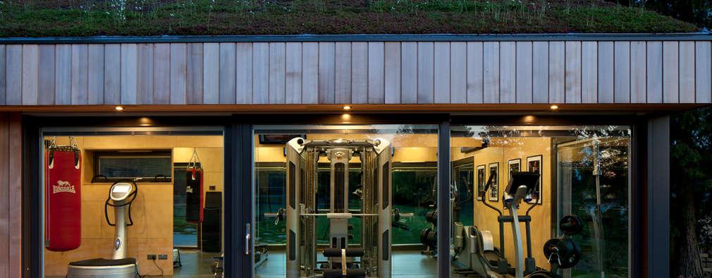 Gymspace: Gimnasios domésticos de estilo moderno de ecospace españa