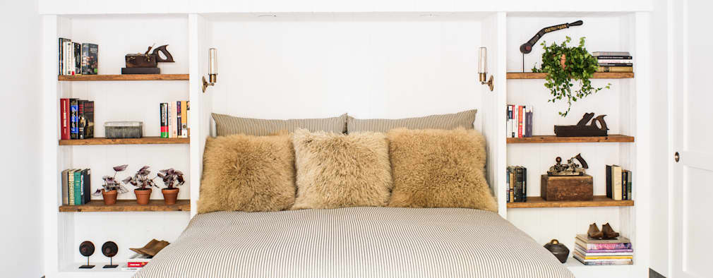 eclectische Slaapkamer door Antonio Martins Interior Design Inc