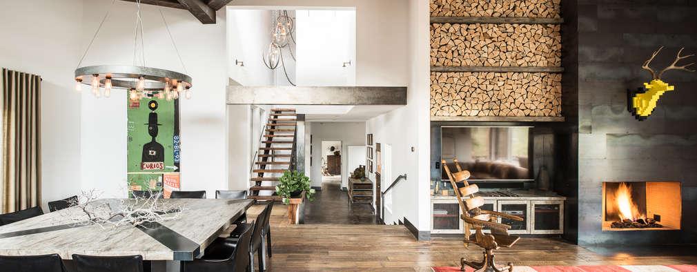 eclectic Living room by Antonio Martins Interior Design Inc