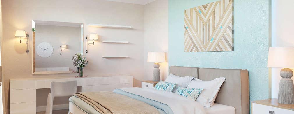 Dormitorios de estilo industrial por Студия авторского дизайна ASHE Home