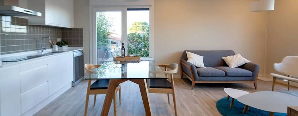 modern Dining room by Casas inHAUS