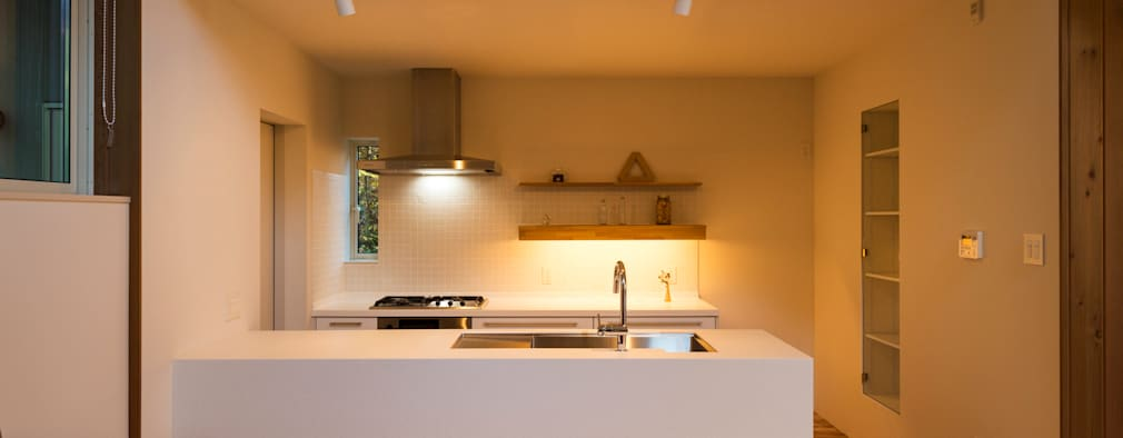Projekty,  Kuchnia zaprojektowane przez エヌ スケッチ