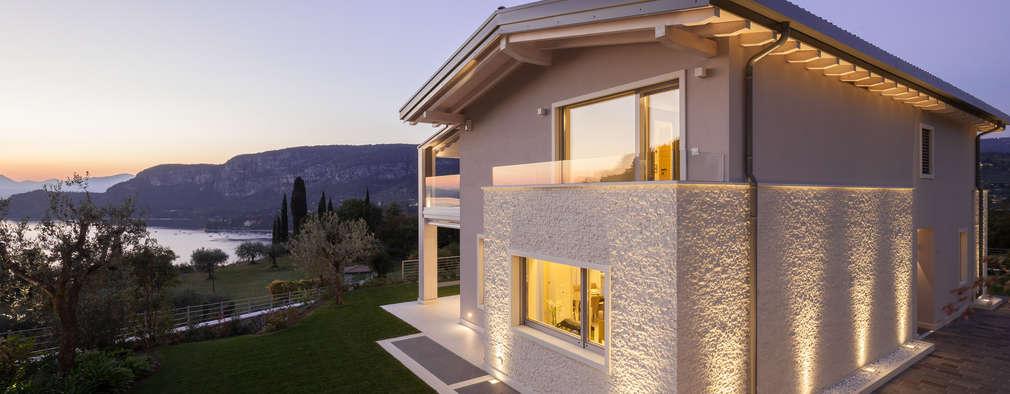 Villa On Lake Garda: Case In Stile In Stile Moderno Di Andrea Bonini Luxury  Interior