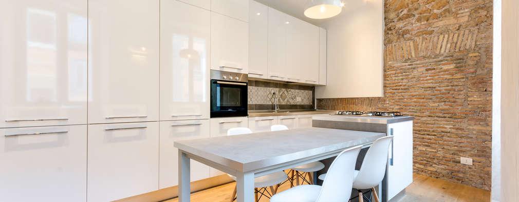 10 prachtige witte keukens