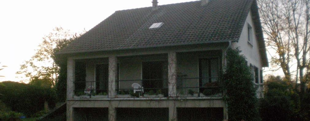 บ้านและที่อยู่อาศัย by Olivier Stadler Architecte