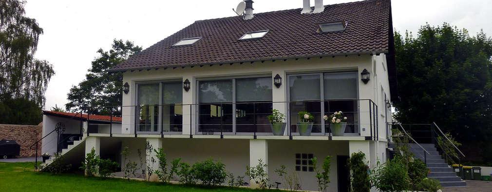 modern Houses by Olivier Stadler Architecte