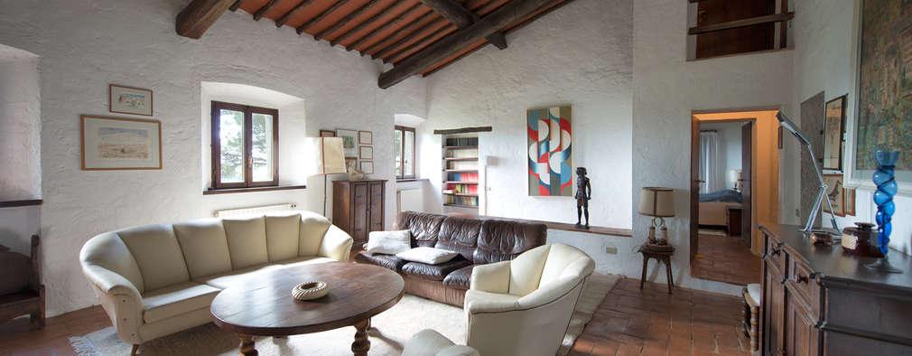 modern Living room by Andrea Fabrizi