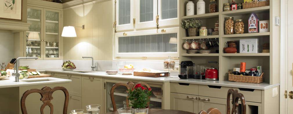 Come creare una cucina contemporanea dall 39 eleganza classica - Creare una cucina ...