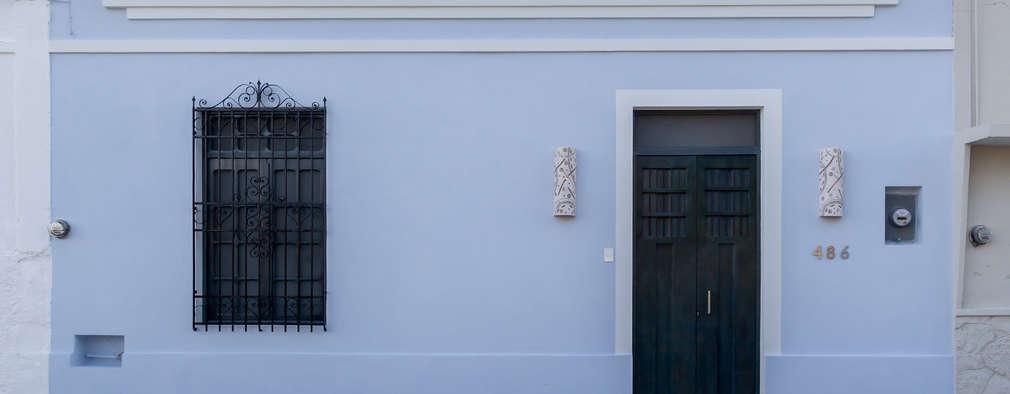 Casas de estilo ecléctico por CERVERA SÁNCHEZ ARQUITECTOS