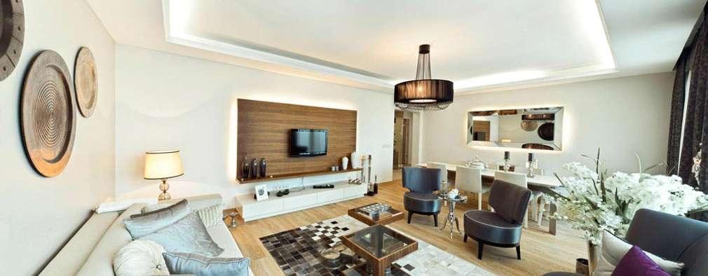 CCT INVESTMENTS – CCT 172 Project in Trabzon: modern tarz Oturma Odası