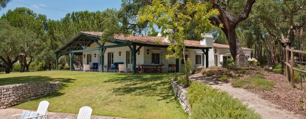 Casas de estilo rural por SA&V - SAARANHA&VASCONCELOS