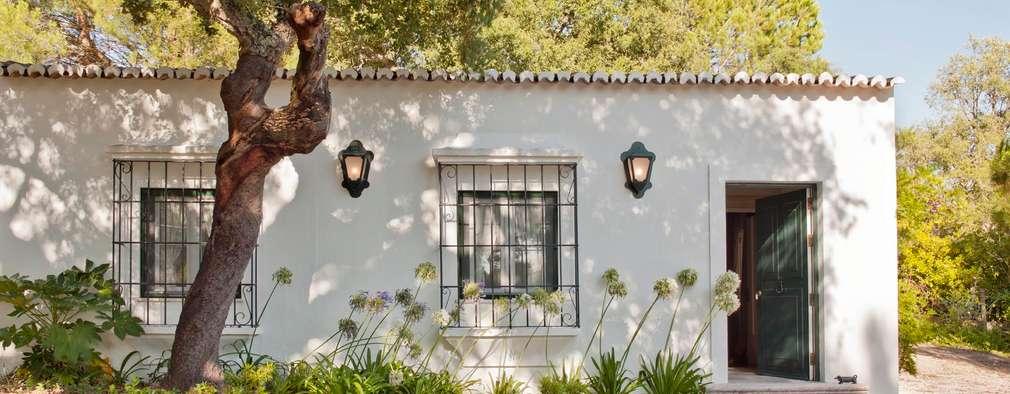 Entradas de casas fascinantes consegue escolher apenas uma for Piani di una casa in stile cottage
