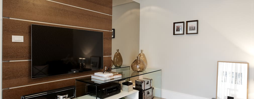 غرفة الميديا تنفيذ criarprojetos | ARQUITETURA . INTERIORES . ENGENHARIA