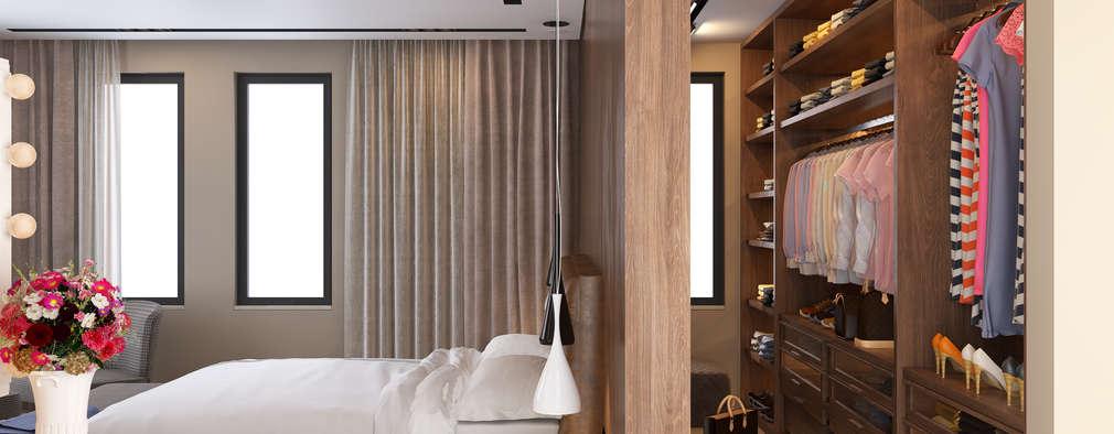 Come integrare la cabina armadio in camera da letto - Cabina armadio in camera ...