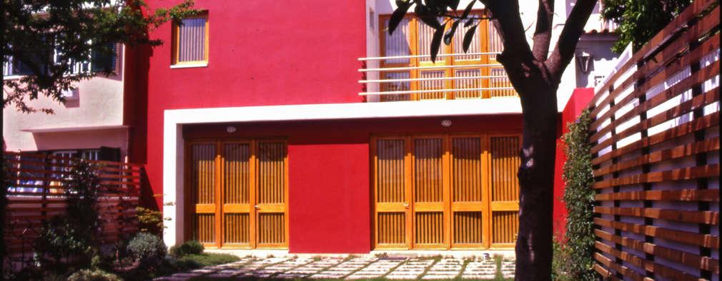 Fachada tardoz: Habitações  por Borges de Macedo, Arquitectura.