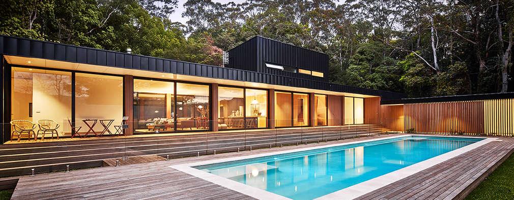 minimalistic Houses by Modscape Pty Ltd