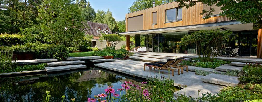 สวน by Jaap Sterk Hoveniers