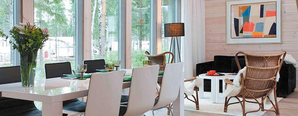 Столовые комнаты в . Автор – Woody-Holzhaus - Kontio