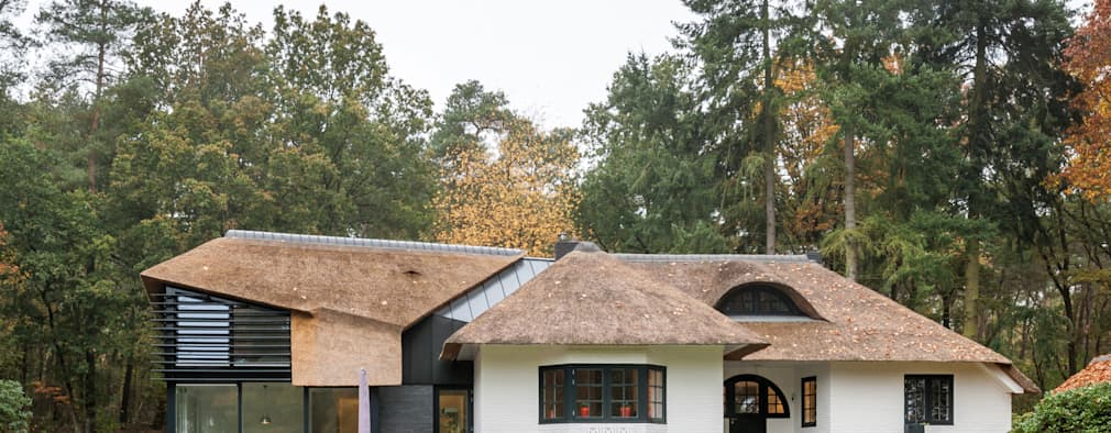 Projekty, nowoczesne Domy zaprojektowane przez Maas Architecten