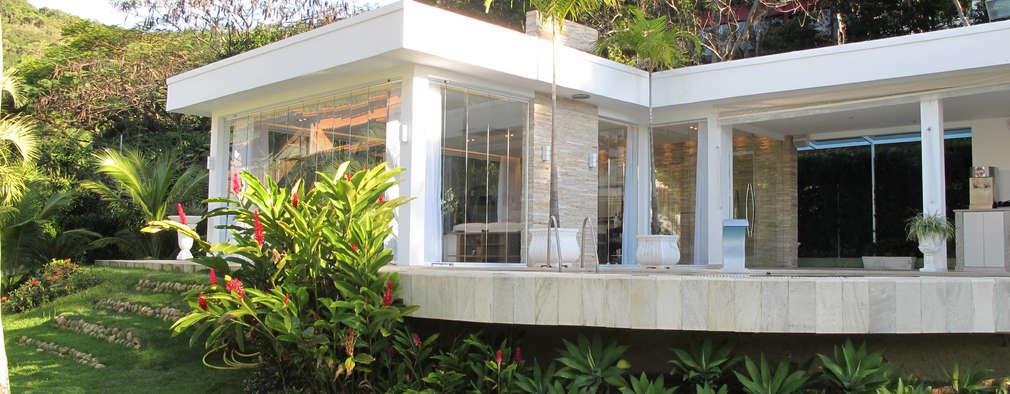 casa moderna tropical uma casa moderna com gosto tropical