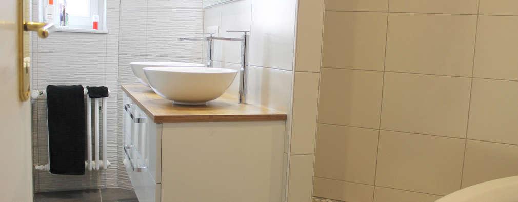 moderne Badkamer door Agence ADI-HOME
