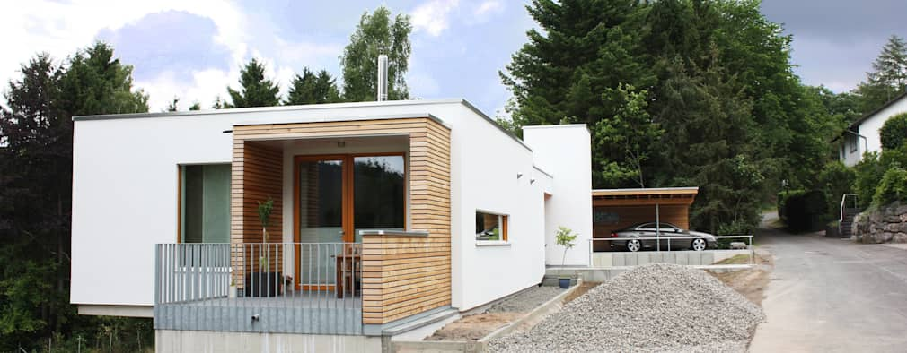 modern Houses by DANKE Architekten