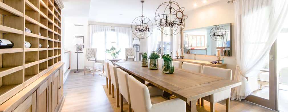 15 ideas para decorar el sal n comedor como un profesional - Ideas para decorar un salon comedor ...