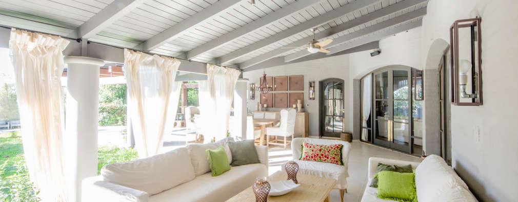 غرفة المعيشة تنفيذ BLOS Arquitectos