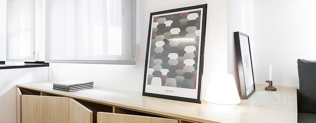 modern Living room by Nan Arquitectos
