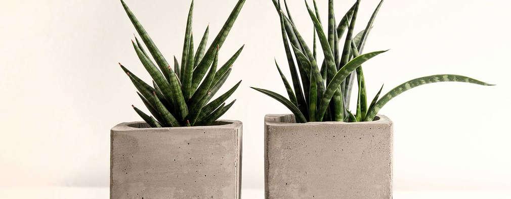 Plantenbakken van beton zelf maken - Maceteros rectangulares grandes ...
