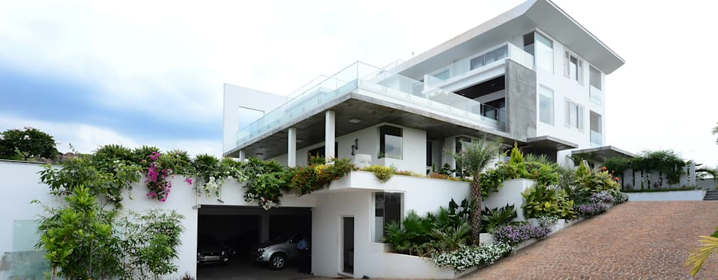 Residential Bungalow: modern Houses by NA ARCHITECTS