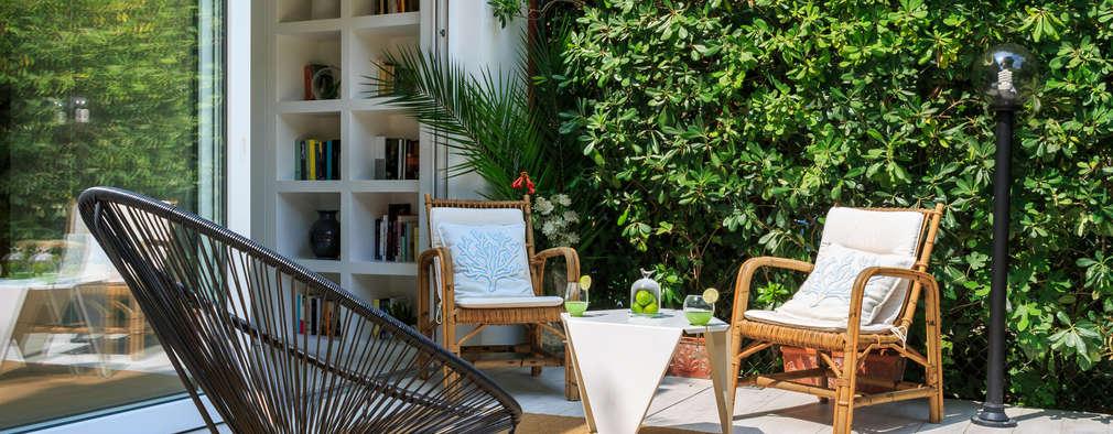 12 patios peque os con muchas ideas para copiar for Jardines en patios pequenos