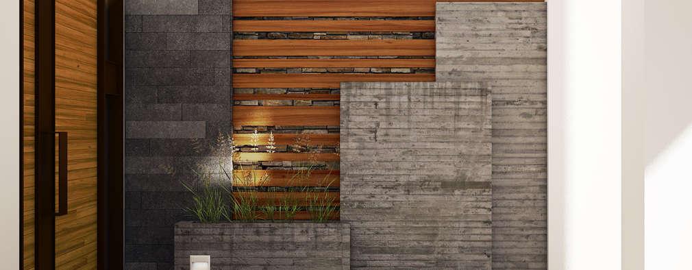 庭院 by Modulor Arquitectura