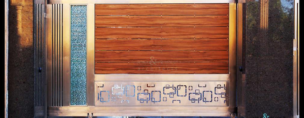 Gate Detail:  Windows by RAVI - NUPUR ARCHITECTS