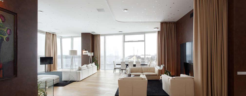 minimalistic Media room by ARCHDUET&DA